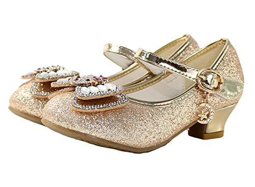 YOGLY - Schuhe für Kinder in Gold, Größe 36 EU