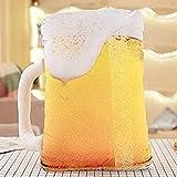 DEMIN Teddy Spielzeugkissen für Pastell Pastell Aperitif Bierstab Kreative Kaffee Mädchen Kinder Sofa Row