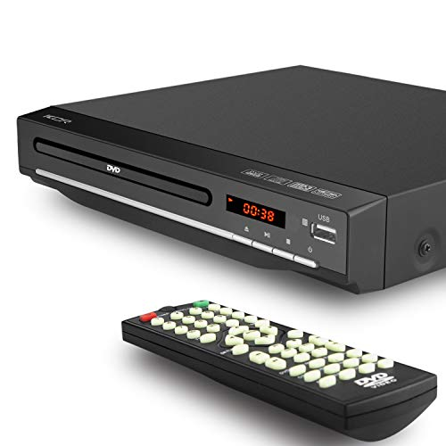 DVD Player with tv,DVD CD MP3 AVI with USB, Multi-Region,HDMI and AV output, Remote Control