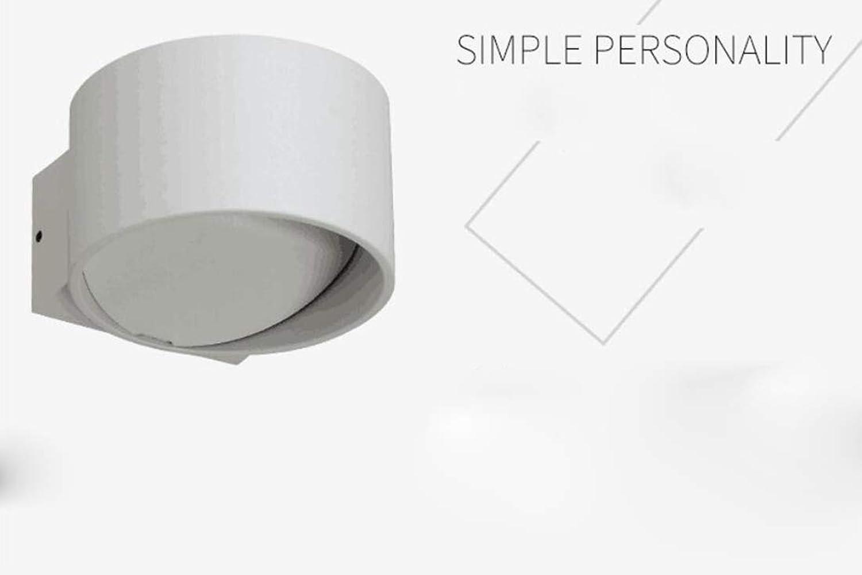 MSAJ Kreative Schlafzimmer Nachttischlampe LED Dekorative Wandleuchte, Wohnzimmer Korridor Einfache Innenwandleuchte