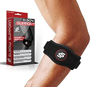 ✅ Eliminate pain & discomfort: Need tennis elbow relief? Suffering from arthritis, epicondylitis or other pain discomforts? We've got you! Our tennis elbow brace for women and men is specially designed to relieve the elbow pain that troubles you. Thi...