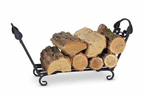 Draagmand voor haardhout, houten wieg, houten mand, mand K10.