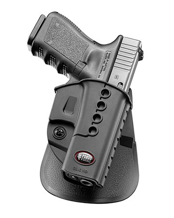 Fobus Concealed Carry Paddle Holster for Glock 17 19 22 23 / Walther PK-380 / Kahr CW40, CM40, P40, PM40, P45