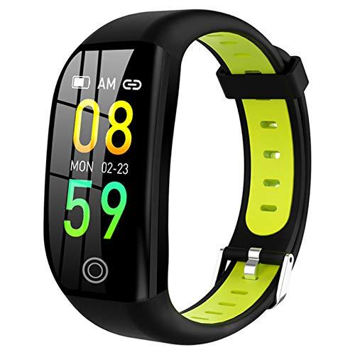 LHL Smart Watch 1.14 Pulgadas HD IP68 Pantalla Impermeable Femenina Monitor Monitor de la función cardíaca Pulsera de presión Arterial iOS Android F21,A