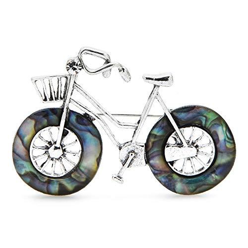 GLKHM Ladies Vintage Brooch Bicycle Brooches Unisex Vintage Bike Brooch Pins