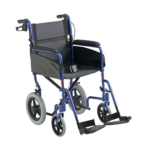 Invacare ligero aluminio transporte silla de ruedas - 16' ancho de asiento