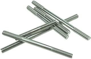 Ochoos GB901 304 Stainless Double end Threaded Bolt Stud Screws Rod M6 M8 M10 M12 M14 M16 M20 - (Dimensions: M6 X 70 10 pcs)