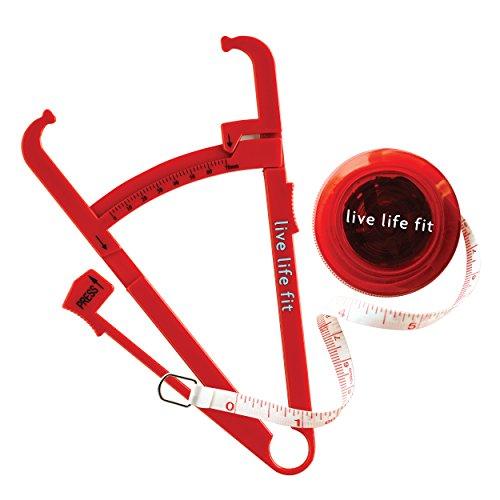 Personale di misura grasso corporeo tester pinza e misura di nastro corpo. Da Fitlosophy Da Fitlosophy