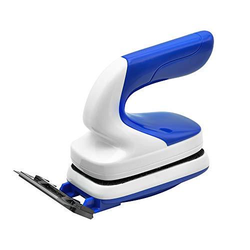 Binken Limpiador para Acuarios, Limpiador de Vidrio Magnético con Raspador Reemplazable Limpiar Cepillo Flotante para Acuario Pecera y Algas Accesorios Limpiadores