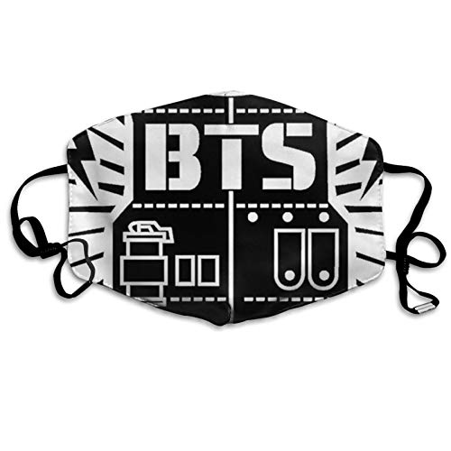 Bt-S Love Yourself Suga Jungkook Jimin V Unisex Face Bandana Sports Breathable Bandana Scarf for Outdoor Activities New