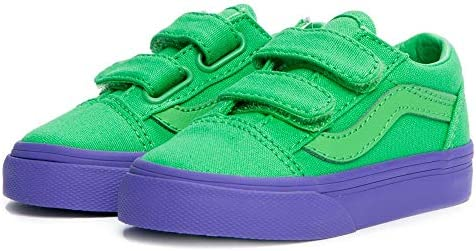 Vans Old Skool V Cosplay Green Purple 2 5 product image