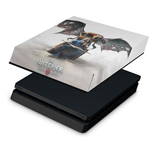 Capa Anti Poeira para PS4 Slim - The Witcher 3: Wild Hunt - Blood and Wine