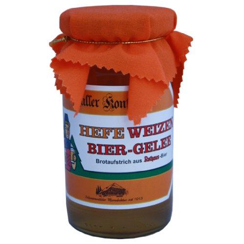 Marmelade Hefe Weizen Biergelee Brotaufstrich aus Rothaus Bier ... wie hausgemacht