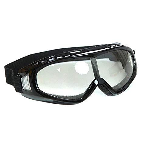 Mazu Homee Esponja Eye anti-deportes gafas de protección al aire libre motocicleta bicicleta colorido gafas de esquí (colorido, transparente)