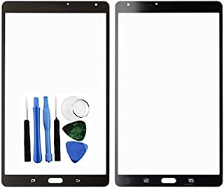 BisLinks for Samsung Galaxy Tab S 8.4 Front Outer Glass Screen Lens Black T700 T705 Tools Replacement Part