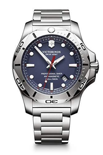 Victorinox Hombre I.N.O.X. Professional Diver - Reloj de Acero Inoxidable de Cuarzo analógico de fabricación Suiza 241782