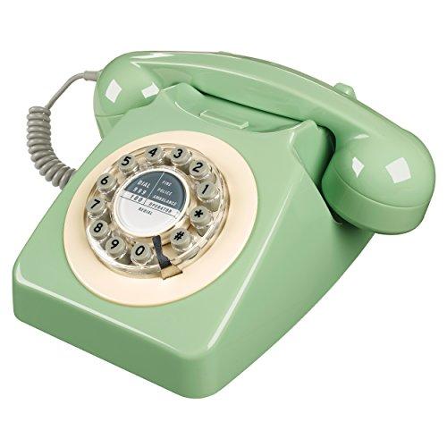 Wild and Wolf Retro 746 Telephone | Swedish Green