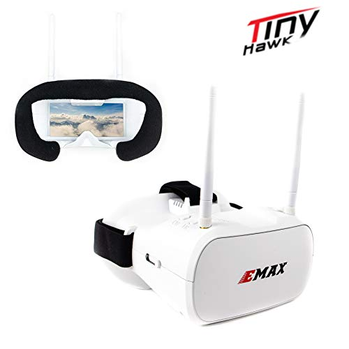 EMAX Transporter FPV Boxed Goggles 5.8G for Racing Drone Diversity Tinyhawk 5 inch Quads Racing Drone Goggles