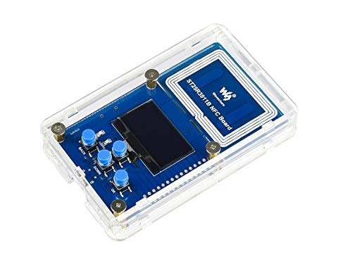Waveshare ST25R3911B NFC Development Kit NFC Reader with STM32F103 Controller OLED Display User Buttons and Common Used Interfaces Multi Protocols