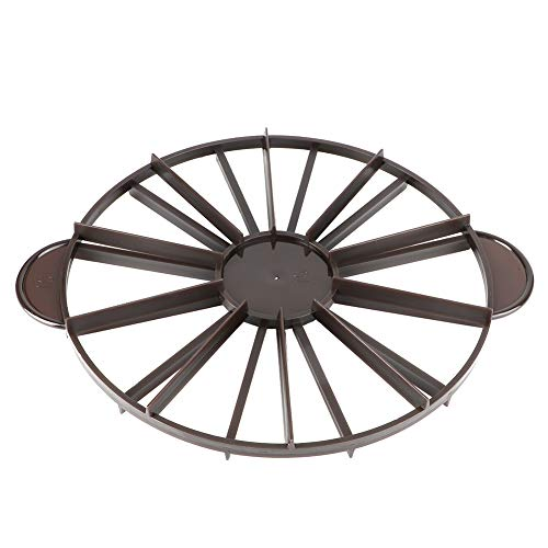 FAMKIT Rotulador de porción de pastel redondo de 10/12 piezas para pan divisor de pasteles iguales para hornear