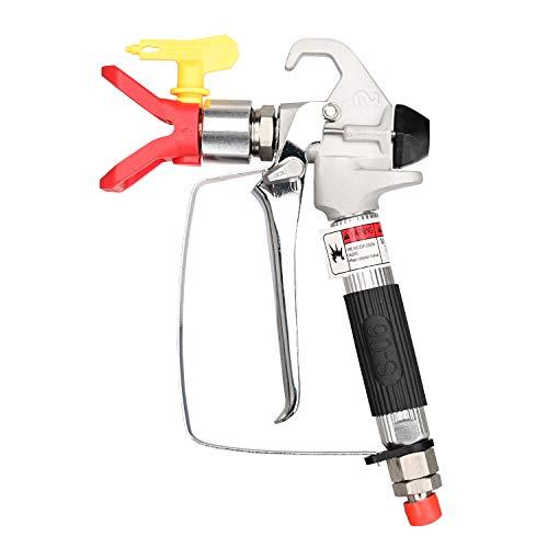DUSICHIN DUS-139 Airless Paint Spray Gun High Pressure 3600 PSI Tip 517 Tip Guard Swivel Joint