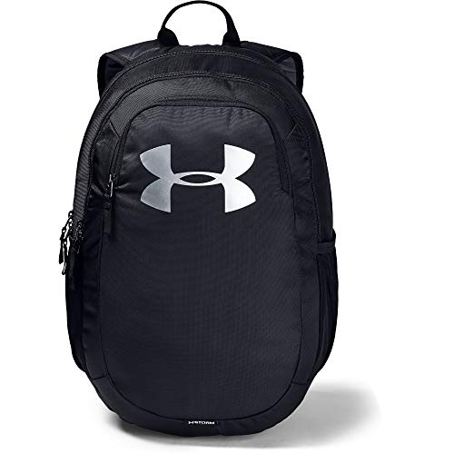 Under Armour Unisex Scrimmage Backpack 2.0, Black (001)/Silver, One Size Fits All