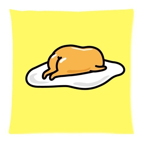 were Gudetama Zippered Pillow Cases 26x26Inch(65cmx65cm)