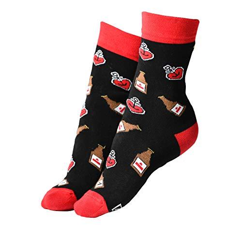 ASTRA Socken Urtyp, schwarz, für Damen & Herren, coole Socken aus St. Pauli (39-42)