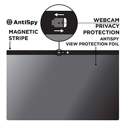 Cobus Blickschutzfolie incl. Kamera Abdeckung geeignet für MacBook PRO 15