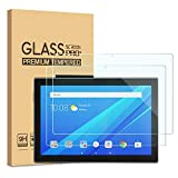 "[2-Pack] PULEN Screen Protector for Lenovo Tab M10 10.1"",Easy Installation Anti-Fingerprints 9H Hardness Bubble free Tempered Glass for Lenovo Smart Tab M10 (10.1"")"