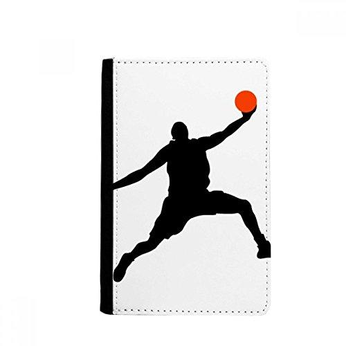 Carteira Slam Dunk Sports Basquete Pulando Passaporte Notecase Burse Carteira Carteira Porta-cartões
