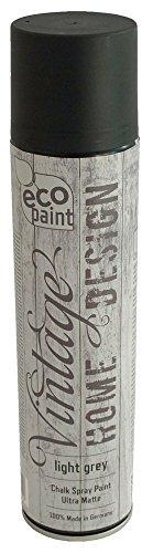 Vintage Kreide Spray hellgrau 400ml Kreidefarbe Chalk Paint Shabby Chic Landhaus Stil Vintage Look