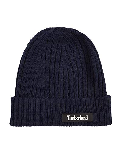 Timberland Men`s Ribbed Cuffed Beanie (Syran(T100846C-V15), One Size)