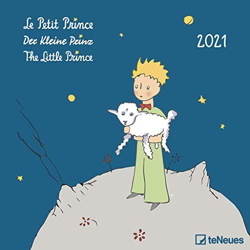 Der Kleine Prinz 2021 - Wand-Kalender - Broschüren-Kalender - 30x30 - 30x60 geöffnet - Kinder-Kalender - Illustrationen: Le Petit Prince