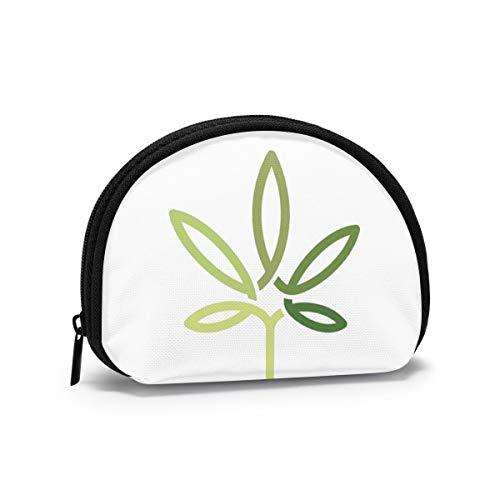 Cannabis Blatt Linie Kunst Design...