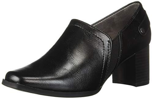 LifeStride Women's Shannon Mid-Heel Shooties Loafer Black 8 M US