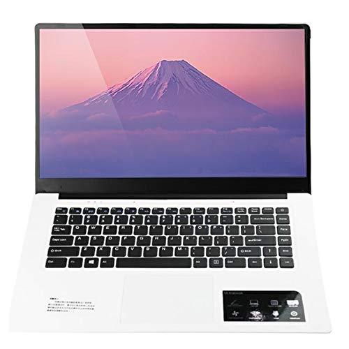 Il computer portatile HPC156 Ultrabook, 15.6 pollici, 2 GB + 32 GB, Windows 10 Intel X5-Z8350 Quad Core Fino a 1.92Ghz, supporto WiFi etc, US/EU (Color : White)