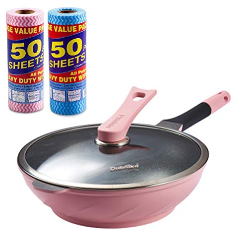 Roze, Blauw, Zwart, Rood Maifan Stone Pot, Non-Stick Braadpan, Maifan Stone Coated Pot, Non-Smoke Gas Cooker, Soep Pot En Wok,A1