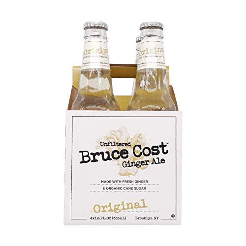 Bruce Ginger Ale Unfiltered, Original, 4 ct