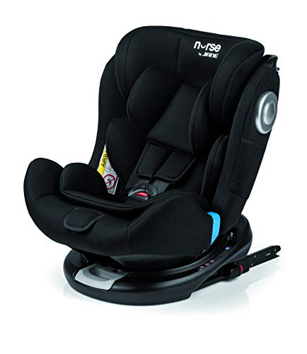 Nurse Step 360º Silla de Coche Grupo 0 1 2 3, Base...