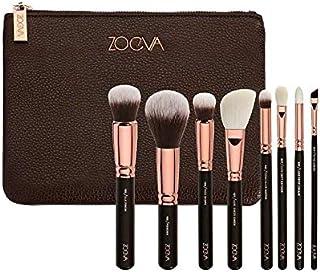 8PCS Rose Gold Pink Makeup Brushes Set private label Vegan Make Up Tools Powder Foundation Eyes Brush with Bag