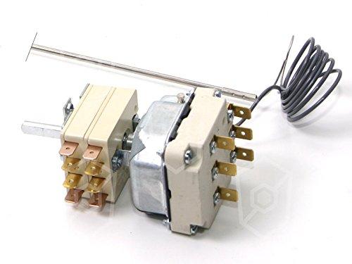 EGO Thermostat 55.34639.010 passend für Küppersbusch, Palux max. Temperatur 180°C 3-polig 2NO/1NO 103-175°C/108-180°C