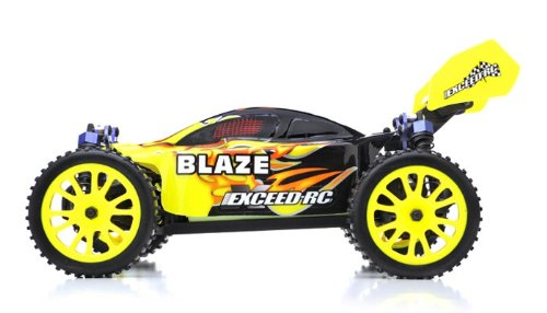 Exceed RC 1/16 2.4Ghz Blaze EP Electric RTR Off Road Buggy Fire Yellow