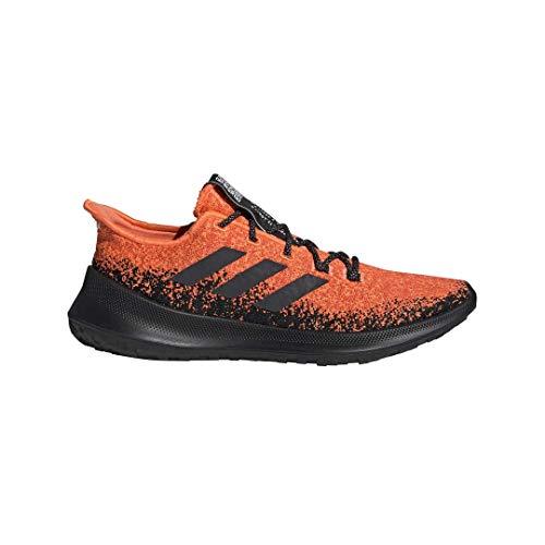 adidas Men's SenseBounce Plus Running Shoes Hi-ResCoral/CoreBlack/ActiveOrange 10 🔥