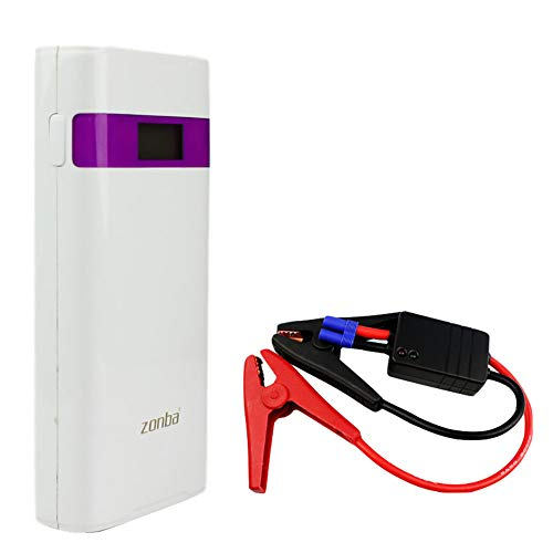 Booster accu, 400 A 10000 mAh draagbare jumpstarter (tot 6,0 l benzine/3,5 l diesel) auto starthulp met LED-lamp