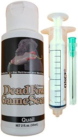 Dokken Dead Fowl Quail Scent Kit 2oz Retriever Hunting Dog Training product image