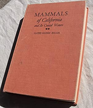Hardcover Mammals of California Book