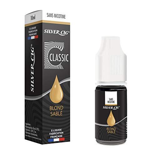 SILVER CIG - E-Liquid SilverCig Sanded Tobacco 0 mg - 70PG/30VG - 10ml