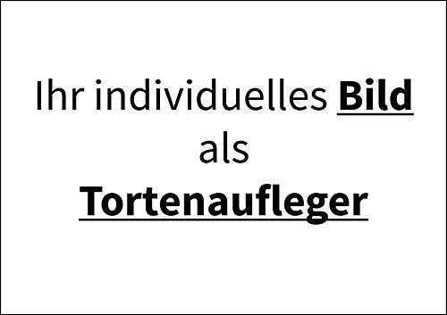 Individuell Bild als Tortenaufleger, Rechteckig A4 - Geburtstag Tortenbild Zuckerbild Tortenplatte Oblate Kuchenzuckerplatte