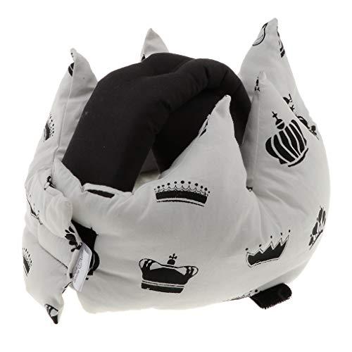 1 x Baby Kopfschutz, Kinder Sturzhelm, Baby Schutzhelm Für Krabbeln, Laufen - Weiß